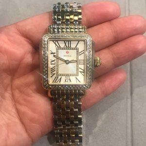 Michele Deco Madison Two-toned Diamond watch